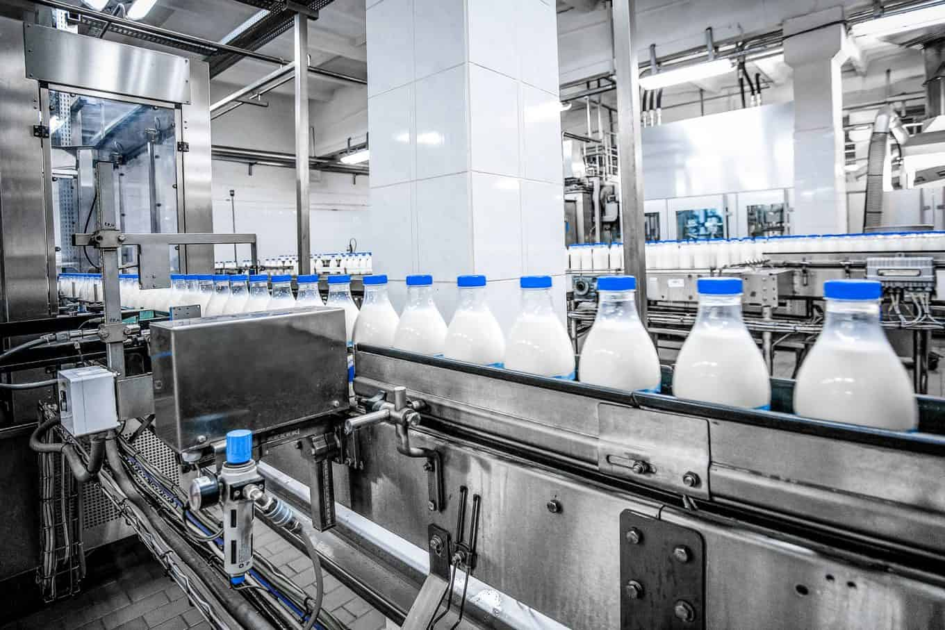 Ozone Treatment in Dairy Industry