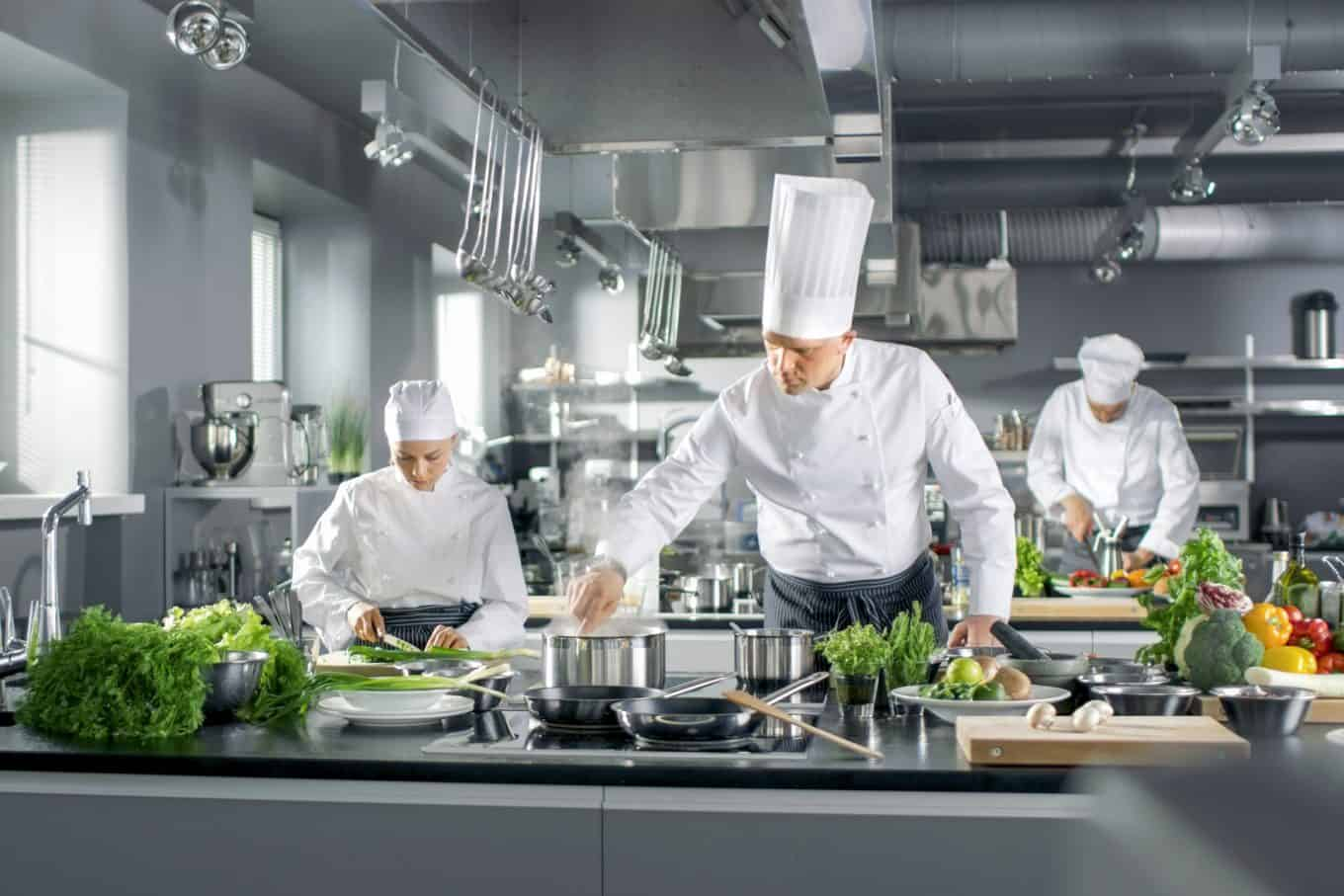 Ozone disinfection for restaurants hotel kitchens